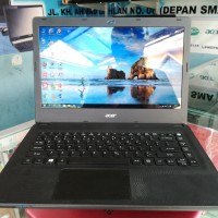 LAPTOP SECOND ACER ES1-421 QUADCORE JOS NORMAL SIAP PAKAI