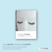 LOYALtype Premium Lashes - Bulu Mata Palsu