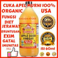 HOT PROMO Bragg Apple Cider Vinegar / Cuka Apel (Pure)/ CUKA APEL ASLI