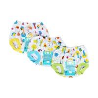 Celana pop bayi LIBBY motif