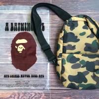 9dc6dfcbee89 Bape Sling Bag Camo   Waist Bag Japan Magazine Appendix
