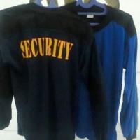 Baju Kaos Panjang Tembak Lapangan Security Satpam Termurah Terlaris