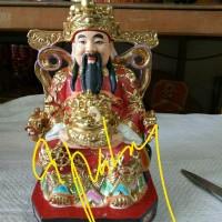 patung dewa cai sen, rezeki, ukuran 6 inch