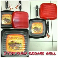 e7332580683b Jual Panggangan BBQ Supra Square Grill Pan 27CM Teflon