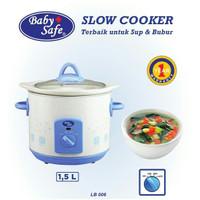 Slow Cooker Baby Safe 1,5L Food Maker Mpasi