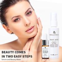 Pemutih Wajah Mellydia Cosmetic Paket Cantik Beauty Water dan Serum