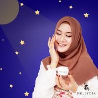 Mellydia Night Cream Krim Malam Perawatan Wajah Cerah Bersih Bersinar