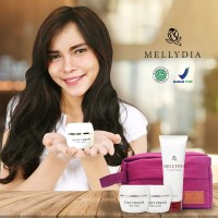 Penghilang Bekas Jerawat Hitam Paket Basic Mellydia Skincare BPOM