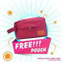 FREE POUCH Cantik Exclusive Setiap Pembelian Paket Complate Mellydia