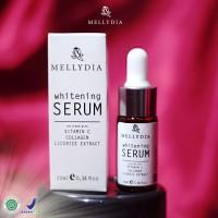Pemutih Wajah Mellydia Skincare Whitening Serum Halal BPOM
