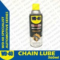 Chain Lube WD-40 Spesialist Automotive WD 40 Pelumas Rantai WD40