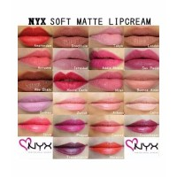Nyx Soft Matte Lip Cream Smlc Kosmetik Bibir Lipstik