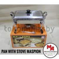 Maspion SS P19 pan with stove