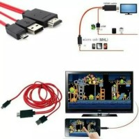 Kabel HDMI Cable 5 Pin HDTV Adaptor MHL OTG Micro USB Adapter