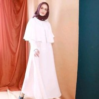 Dijual dress murah gamis muslim long dress lebaran baju wanita