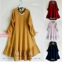 Dijual dress wanita gamis wanita long dress baju wanita baju m Limited