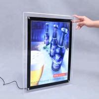 LED Frame Slim Light Box Display