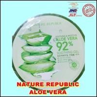 Harga nature republic aloe vera soothing gel kecantikan kosmetik | antitipu.com