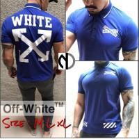 Kaos Off White Polo Shirt Premium Quality