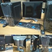 Komputer PC rakitan set dengan LCD untuk Kantor DLL