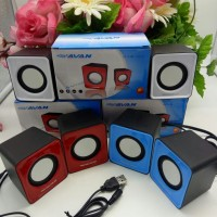 Speaker Komputer PC Laptop Notebook USB Mini Multimedia Warna
