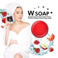 Harga w soap perfect deep cleansing soap wink | Hargalu.com