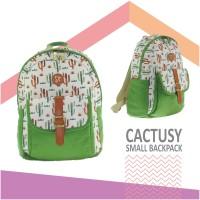 Tas ransel – small backpack casual THREEREY CACTUSY TA90055 ad28db3fbf