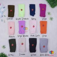 Legging Strawberry uk Bayi - 3 Tahun / Legging Kaos Anak Perempuan