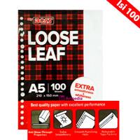 BiG BOSS Loose Leaf A5 (Pak Isi 100 Lembar)Isi File Binder/Isi Binder