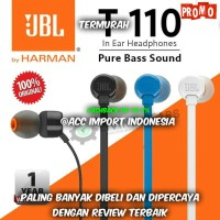 Headset JBL T110 Headphone Earphone With Mic Microphone Original 100%