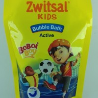 Zwitsal Kids bubble Bath Action Pouch New Packaging 250 mL