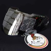 Visor Helm Zeus ZS811 Kaca Iridium SILVER ZS 811 Original ZS-811