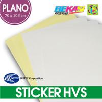 Kertas Sticker HVS Plain Uk. Plano 70 x 108 - Stiker LINTEC