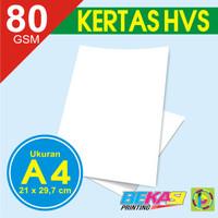 Kertas A4 - HVS 80 GSM