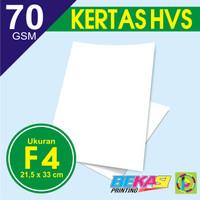Kertas Print Fotocopy - HVS Putih F4 70 GSM