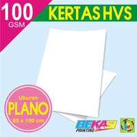 Kertas HVS 100 gram  Ukuran Plano 65 x 100 cm