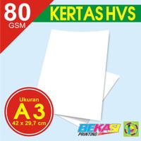 Kertas HVS A3 80 Gram - Eceran