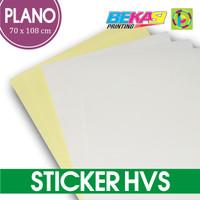 Kertas Sticker HVS Plain Uk. Plano 70 x 108 - Stiker FASTAC