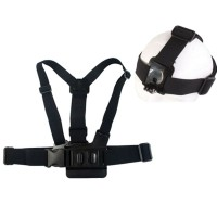 Chest Harness Belt Strap with Head Belt for GoPro & Xiaomi Yi