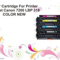 Toner Cartridge For Printer Laserjet Canon 7200 LBP 318 COLOR NEW