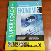 Buku Super Coach Ekonomi SMA Kelas X Kurikulum 2013 Revisi