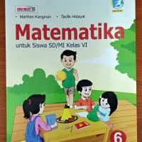 Buku Matematika SD Kelas 6 Kurikulum 2013 Revisi Lulus Penilaian