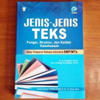 Buku Jenis-Jenis Teks dalam Mata Pelajaran Bahasa Indonesia SMP