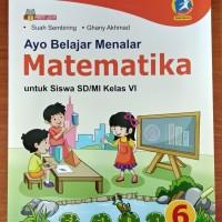 Buku Ayo Belajar Menalar Matematika SD Kelas 6 Kurikulum 2013 Revisi