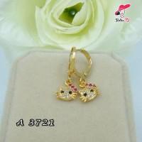 Anting Korea Hello Kitty Batu Permata A 3721
