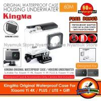 KingMa Original Waterproof Case for Xiaomi Yi 4K / PLUS / LITE + Gift