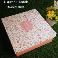 Paper Gift Box L KOTAK / Kotak Kado Serbaguna SAVE THE DATE - Versi 1