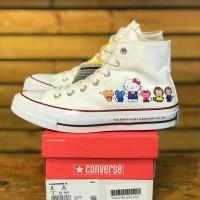 Sepatu Converse 70s Hi Hello Kitty White Converse Cewek PK Quality 11d2c72730