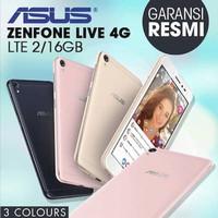 HP ASUS ZENFONE LIVE RAM 2GB/16GB GARANSI RESMI ASUS 1 TAHUN - Hitam