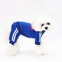 baju anjing kucing Jumper superstar biru/Baju anjing kucing Jumper